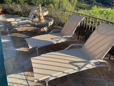 Brown Jordan Sling Pool Lounges - SOLD