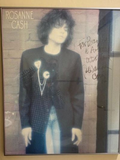 Autographed Poster Roseanne Cash