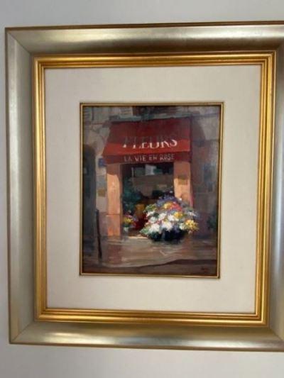 George Botich, Paris oil on canvas