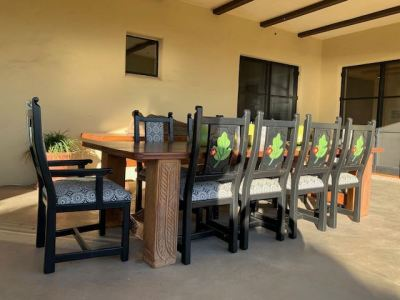 Outdoor Dining--CHAIRS SOLD