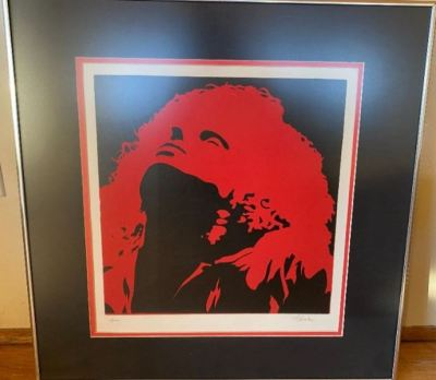 Rock Star litho--SOLD