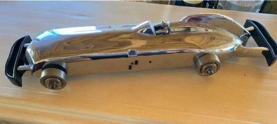 """1930's Chrome Steel Gravity Racer """"Zephyr"""" - SOLD"""