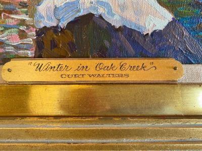 Curt Walters, Winter In Oak Creek