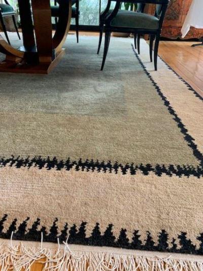 Odegard hand made wool areal rug--SOLD