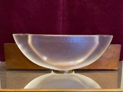 Bucquet art glass sculpture--SOLD