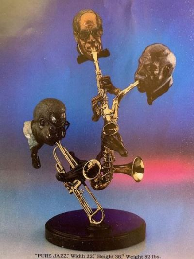 """Pure Jazz"" Bronze by Paul Wegman--SOLD"