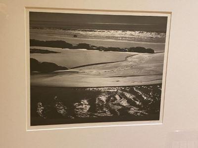 Ansel Adams, Refugio Beach photo - SOLD
