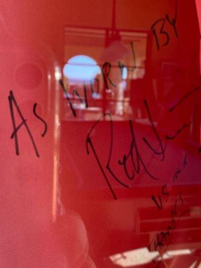 Signed Rod Stewart--SOLD