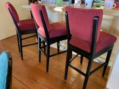Swivel Upholstered Bar Chairs