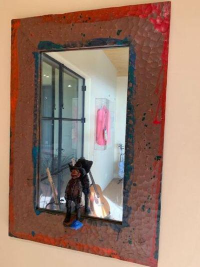 Cowboy Mirror--SOLD