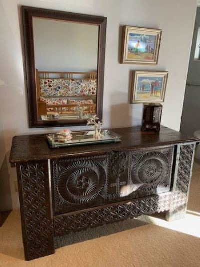 Guest Room ~ Antique Chest--SOLD