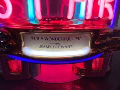 "Jerry Berta ""Star Theater"" neon art sculpture--SOLD"