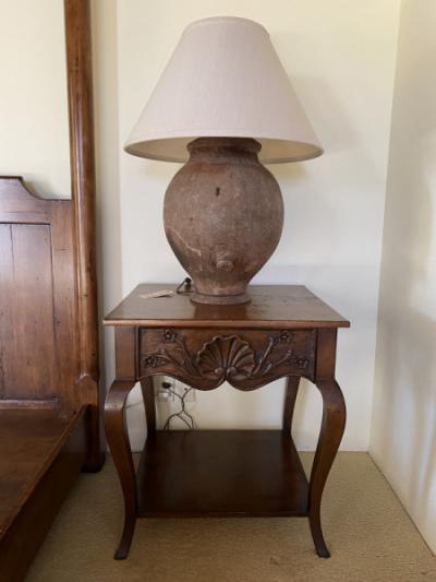 Large Ceramic Lamp--SOLD