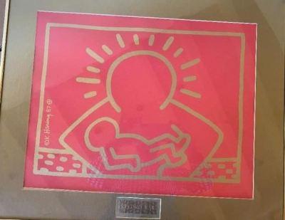 Rare Keith Haring Print