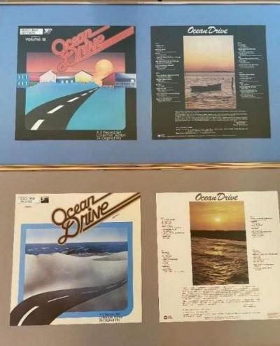 Framed record awards