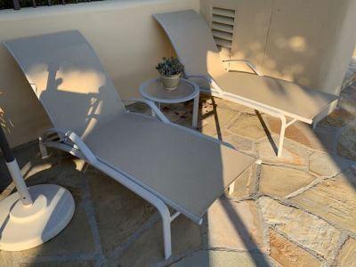 Brown Jordan Sling Lounge Chairs -SOLD