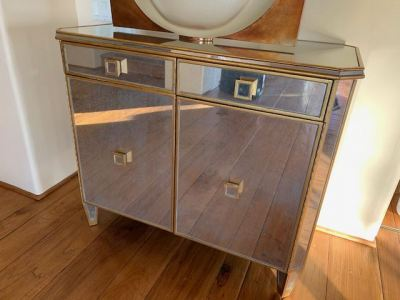 Mirrored Cabinet--SOLD