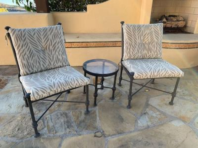 patio chairs--SOLD
