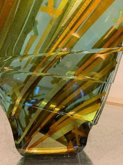 Tomas Hlavicka Czech Art Glass sculpture