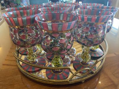 MacKenzie Childs Glassware