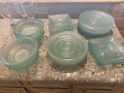 Window Glass Dishware