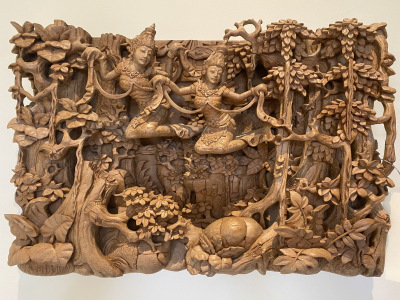 Thai Woodcarved Art--SOLD
