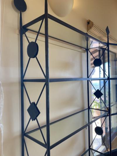 Decorative Iron Etagere (Side)