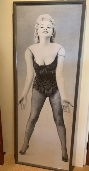 Life Size Marilyn--SOLD