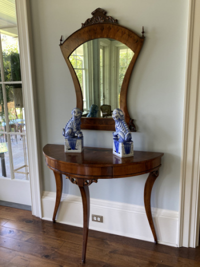 Console-Table-and-Mirror