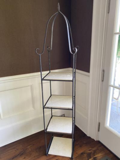 Iron-display-shelf