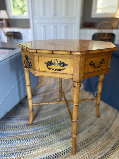 Octoganal-Side-Table