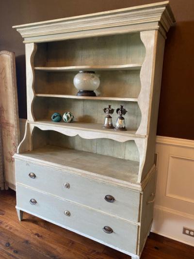 Painted-Antique-Hutch
