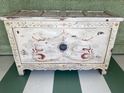 White-Painted-Chest