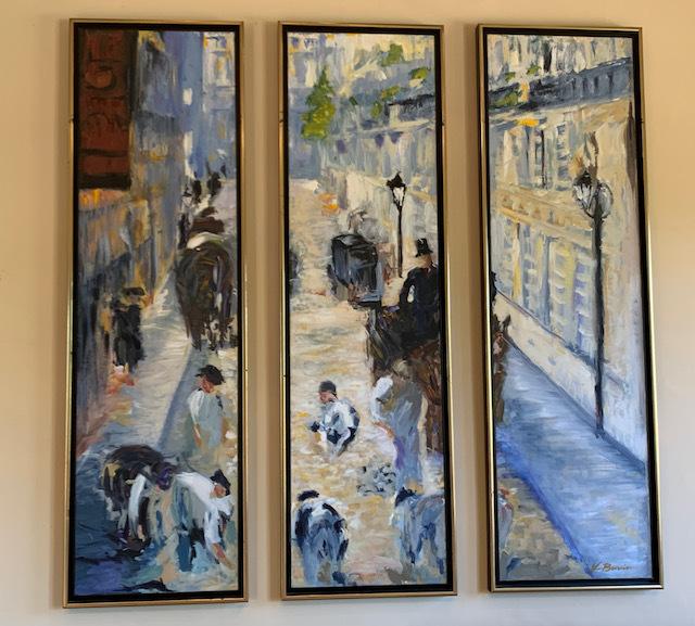 OriginalTryptic Street Scene