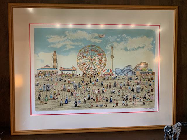 """Coney Island Pier by Vestie Davis"