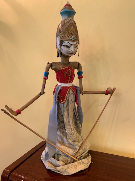 Whimsical Lady Puppet