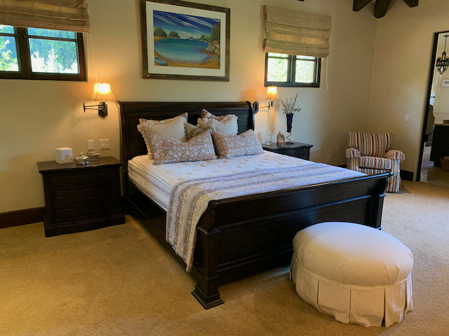 Cal King Bed Frame with Mattress Set