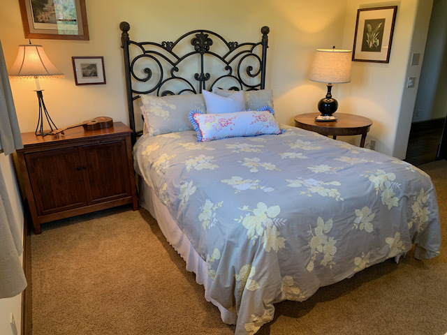 Queen Bed with Side Tables