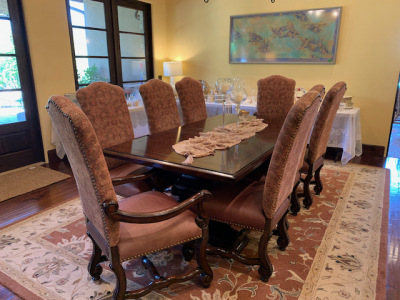 Dining Table - Eight Chairs