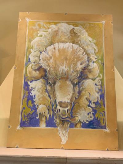 """""""Portrait of Running Bison"""""""