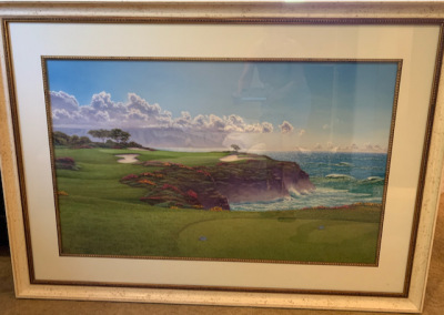 7th Hole at Princeville by Lee Mothes