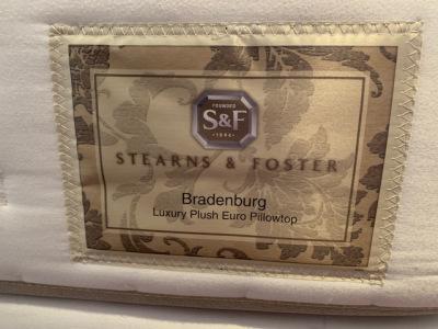 Stearns and Foster Mattress Set