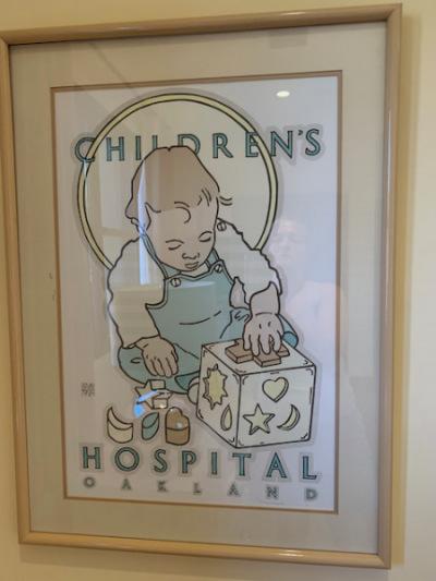 "Goines ""Children's Hospital"" Print"