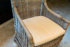 Wicker Dining Chair - Rooms & Gardens