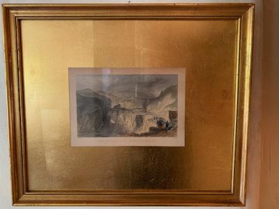 Pr. Gold Framed Prints