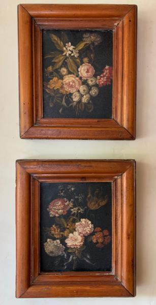 Pr. of Oils ~ English Florals