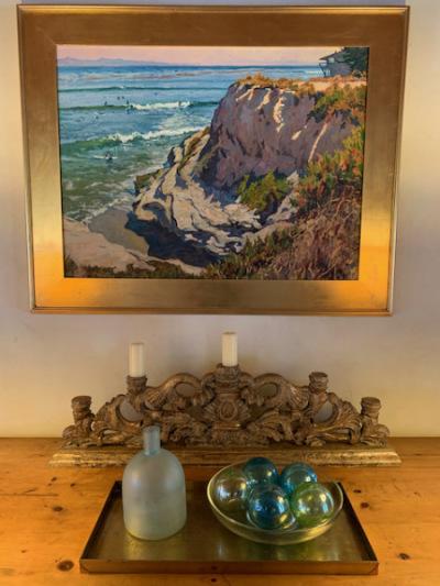 Ornate Carved Table Candelabra