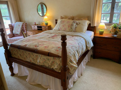 Antique 1820's Tall Post Queen Bed