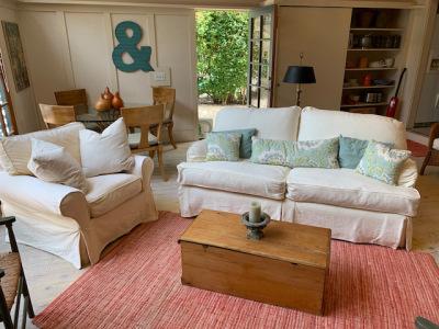 Custom Slipcovered Sofa