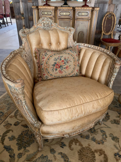 Bergere Chair - French Revival 1920-1920